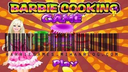 بازی باربی آشپزی
