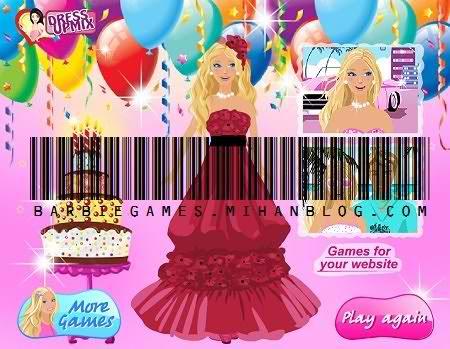 لباس باربی تولد