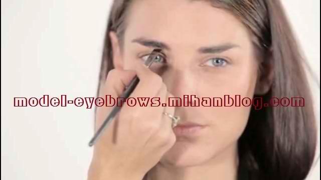آموزش آرایش ابرو 1